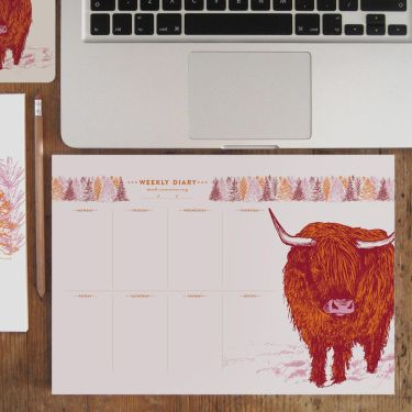 Highland Cow by Cherith Harrison