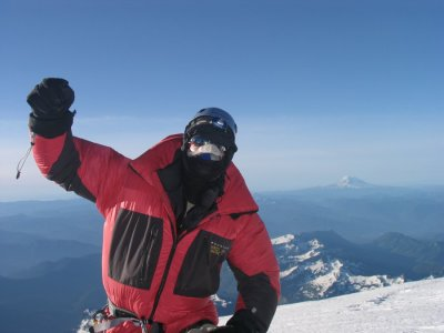 Dave on top of Mount Rainier