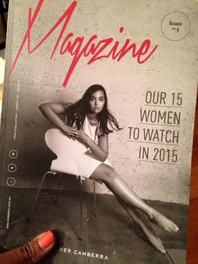 zoya patel magazine cover