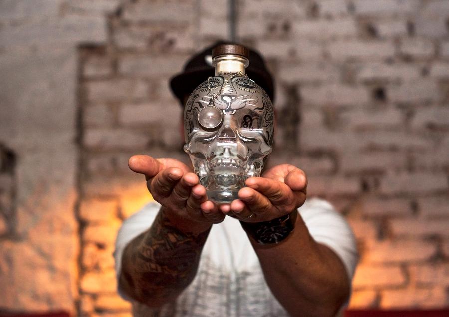 skull vodka